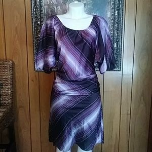 Womens Calvin Klein Dress Sz 16 Pretty!